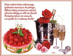 Flowers Gif, Happy Birthday Cakes, Acai Bowl, Raspberry, Fruit, Holiday, Google, Pictures, Fotografia