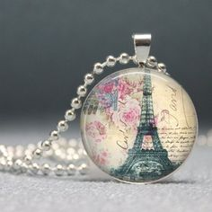 Cool art to wear using vintage postcard