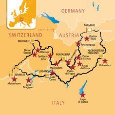 Motorcycle Tour European Alps