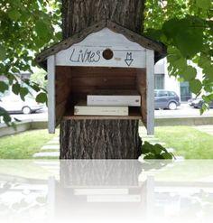 Des livres qui circulent librement en ville, on adore le concept! http://wp.me/s3mqmW-bouqlib (COSI, le Blog)