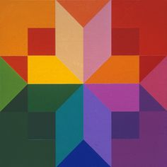 Karl Benjamine (1929-2012) developed a rich vocabulary of colors and hard-edge shapes in masterful compositions of tightly balanced repose or high-spirited energy. He was a a colorist of great wit and inventiveness.