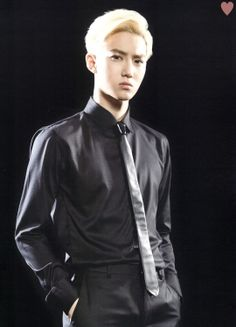 SUHO - EXO Official Goods Brochure