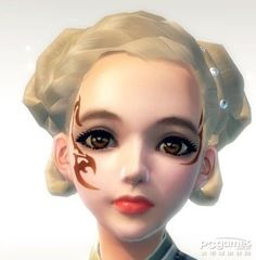 风靡全球的面部纹身 笑傲江湖捏脸教程_笑傲江湖精华攻略_太平洋游戏网 Halloween Face Makeup