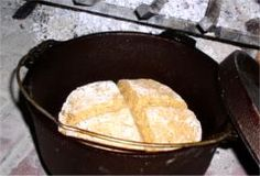 Irish Soda Bread in a Dutch Oven