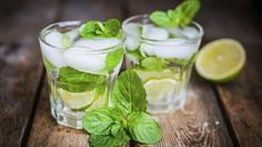 Few things say summer like a minty cool virgin mojito.