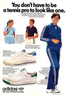 adidas vintage look