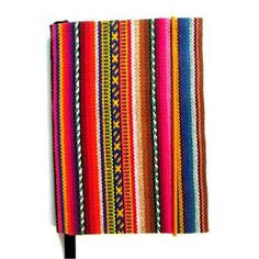 Blank Journal Native South American Fabric Notebook