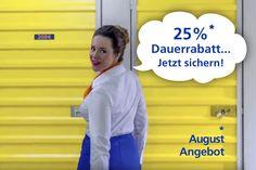 Nass werden Sie bei LAGERBOX in Köln Ossendorf nicht - Sie lagern überdacht und trocken bei uns ein und profitieren gleichzeitig von unseren attraktiven August Angeboten! z.B. Lagerraum mieten (egal welche Größe) und 25% Dauerrabatt genießen - Nur bis 13.08.!! Einfach mal vorbei schauen!