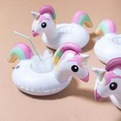 Unicorn White Drink Float