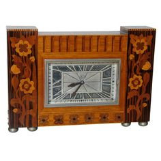 An Exceptional Art Deco Mantle Clock | c. 1930, France