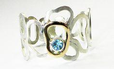 Ring zilver topaas by René Vlablom