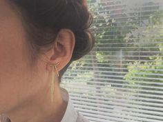 NO2 - zeitgenössischen Schmuck - Handmade geometrische Schmuck Ohrring - zeitgenössischer Schmuck Ohrring - moderner Schmuck Ohrring - einzigartige Schmuck