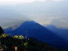 A sombra da montanha