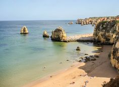 Praia Dona Ana from above | 6 Best Places to Visit in Lagos, Portugal