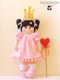 Princesa da Clarinha by Ei menina! - Erica Catarina, via Flickr