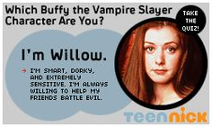 Which Buffy the Vampire Slayer Character Are You?