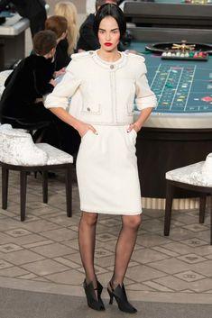 Chanel Fall 2015 Couture Fashion Show - Sasha Luss (Elite)