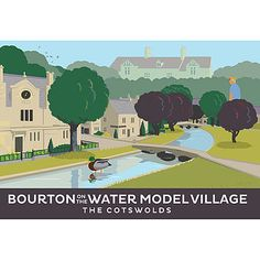 Bourton On The Water Cotswolds Print by Andy Tuohy
