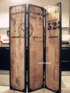 尼克卡樂斯~LOFT工業風復古做舊屏風 客廳屏風 臥室屏風 餐廳屏風 服飾店隔間屏風 咖啡廳隔間屏風