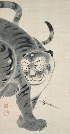 Tiger - Ito Jakuchu