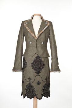Trachtkostüm Jägerin, modern Folk Costume, Costumes, Victorian, Clothes For Women, Modern, Dresses, Fashion, Dirndl, Alps