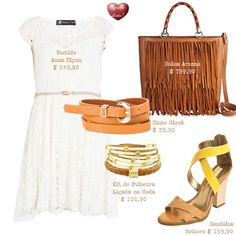 Como usar bolsa de franja - How to wear fringe bag