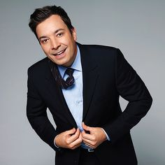 JIMMY FALLON oh he makes me laugh so would like to hang out with him!