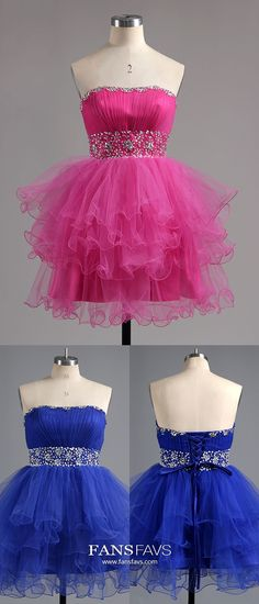 Fuchsia Homecoming Dresses Short, A-line Prom Dresses Sparkly, Gorgeous Sweet 16 Dresses Sweetheart, Classy Cocktail Party Dresses Tulle Spring Formal Dresses, Cheap Formal Dresses, Dresses Short, Dresses For Teens, Vintage Homecoming Dresses, Pageant Dresses, Graduation Dresses, Evening Dresses, Prom Gowns