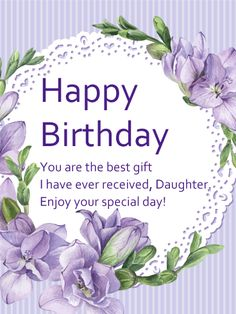 63 Best Birthday Cards For Daughter Images Anniversary Cards