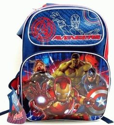 Avengers Age of Ultron Movie Adjustable Backpack Ruz http://www.amazon.com/dp/B011HEE03U/ref=cm_sw_r_pi_dp_xpSpwb07DN783