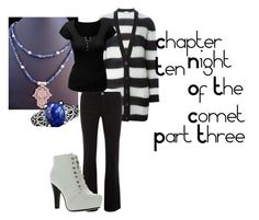 """""""Chapter Ten Night Of the Comet Part Three"""" by iris-rainbowwolf ❤ liked on Polyvore featuring art"""