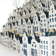 Little houses you get from KLM in Holland (if your ticket is expensive enough, that is)