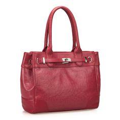 Nucelle Freedom Ostrich Embossed Leather Shoulder Bag [1170306-02] - $61.00