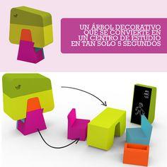 Muebles para niños con mucha onda...     Imagínate un adorno que además de cumplir con su función de adornar, fuera funcional, didáctico, tuviera colores increíbles y fuera poco espacioso... ¿Todo lo que necesitas para tu casa verdad?    Conoce + modelos aquí: http://www.sotanostudio.com/?page_id=889#sotano-studio-2