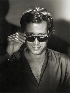 Chevy Chase (1943) - American comedian, Golden Globe Award-nominated film and television actor, and Emmy Award-winning writer. Photo by George Hurrell