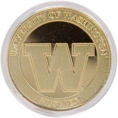 Washington Huskies 24KT Gold Coin