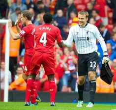 """Simon Mignolet penalty save """"important for future of Liverpool FC"""" - Kolo Toure - Liverpool FC This Is Anfield Best Football Team, Liverpool Football Club, Liverpool Fc, Kolo Toure, This Is Anfield, European Men, You'll Never Walk Alone, Stoke City, Champions League"""
