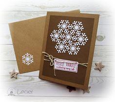 Vánoční přání - Sněhová vločka