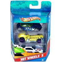 Mattel Hotwheels 3- pack (assorti) o.a. bij Albert Heijn