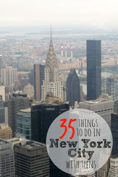 35 Things to do in New York City with Teens (or anyone) New York Vacation, New York City Travel, New Travel, Travel With Kids, Travel Usa, Family Travel, Solo Travel, Travel Europe, Visiting Nyc