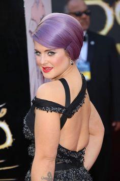 Kelly Osbourne at the Oscars 2013 http://pinterest.com/toscahairbeauty/ www.toscasalon.com  https://www.facebook.com/ToscaHairAndBeauty#!/ToscaHairAndBeauty