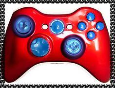 Master Mod Xbox 360 Controller Full Glow USA