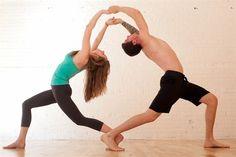 Yoga yaparak mutlu bir evlilik