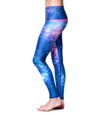 LOVE THE UNIVERSE hot pants made from recycled plastic in USA $66 SHOP: http://teeki.com/ladies/bottoms/  #LOVETHEUNIVERSE #spacepants #space #teeki #hotpants #yogapants #yoga #leggings #tights #yogastyle #yogatights #yogafashion #recycledclothing #eco #recycled #ecoclothing