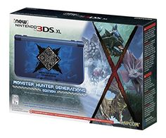 Nintendo New 3DS XL - Monster Hunter Generations Edition, 2016 Amazon Hot New Releases Video Game Consoles & Accessories  #VideoGames