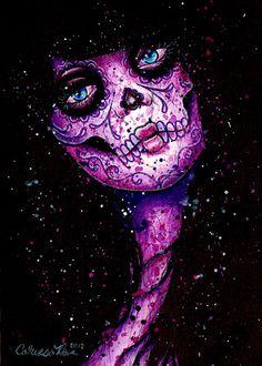 Tophatter : ORIGINAL PAINTING OOAK 5x7 Watercolor Painting