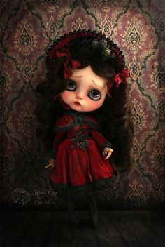 Winter Berry by Rebeca Cano ~ Cookie dolls, Gersendre Winter Berry  www.cookie-dolls.com