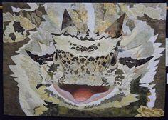 Texas Horned Lizard by Carol Morrissey.