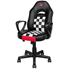 Trust - 22876 - Trust GXT 702 Ryon Junior Gaming Chair for kids with full ergonomic design - Black / Red - For Game - PU Teal Dining Chairs, Accent Chairs For Living Room, Siege Gaming, Trust Games, Leather Chaise Lounge Chair, Leather Chairs, Leopard Chair, Obelix, Teal Accent Chair