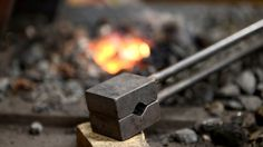 Blacksmithing - Making a spring swage (12mm round dies)